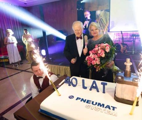 Świętowanie 40 lecia założenia firmy