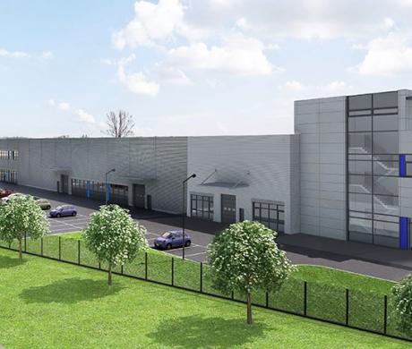 Wizualizacja nowego budynku