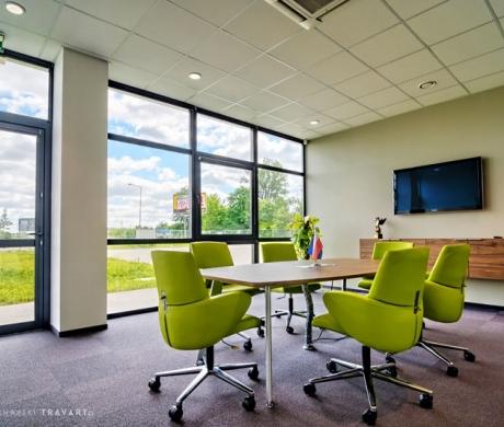 Sala konferencyjna do spotkań z klientami