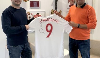 Koszulka Roberta Lewandowskiego