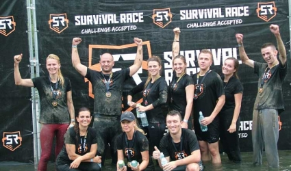 Pneumat na Survival Race